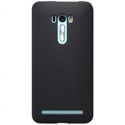 """""""Nillkin"""" Frosted Shield apvalks - melns + ekrāna aizsargplēve (Zenfone Selfie)"""