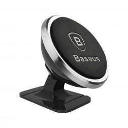 """""""Baseus"""" Magnet Mount automašīnas telefona turētājs - sudrabs"""