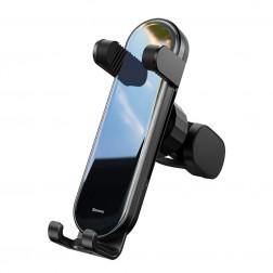 """""""Baseus"""" Penguin Gravity automašīnas telefona turētājs (restēm) - melns"""