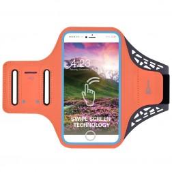 """""""BDD"""" futrālis sportam (rokas saite) - oranžs (XL+ izmērs)"""
