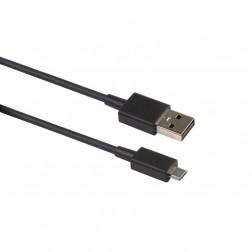 """BlackBerry"" micro USB vads - melns (1,2 m.)"