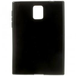 Cieta silikona (TPU) apvalks - melns (Passport)