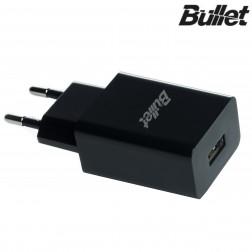"""""""Bullet"""" tīkla lādētājs - melns (2.1 A)"""