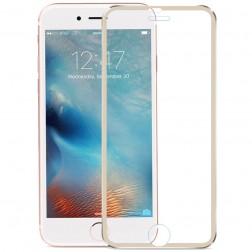 """""""Calans"""" Tempered Glass pilnīgi aizsedzams ekrāna aizsargstikls 0.2 mm - zelta (iPhone 7 Plus / 8 Plus)"""