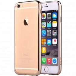 """Devia"" Glitter apvalks - dzidrs, zelta + ekrāna aizsargstikls (iPhone 6 / 6S)"