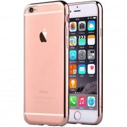 """Devia"" Glitter apvalks - dzidrs, rozs + ekrāna aizsargstikls (iPhone 6 / 6S)"