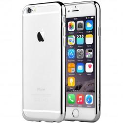 """""""Devia"""" Glitter apvalks - dzidrs, sudrabs + ekrāna aizsargstikls (iPhone 6 / 6S)"""