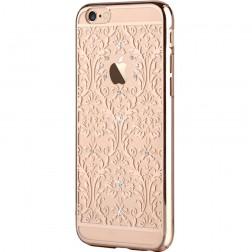 """""""Devia"""" Baroque Swarovski apvalks - zelta (iPhone 6 / 6S)"""