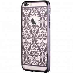"""Devia"" Baroque Swarovski apvalks - melns (iPhone 6 / 6S)"