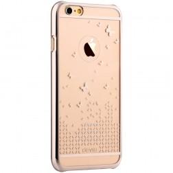 """""""Devia"""" Butterfly apvalks - zelta (iPhone 6 / 6S)"""