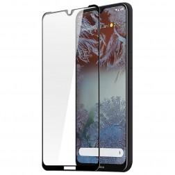 """""""Dux Ducis"""" Tempered Glass pilnīgi aizsedzams ekrāna aizsargstikls 2.5D - melns (Nokia 6.3 / G10 / G20)"""