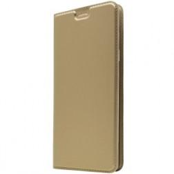 """Dux Ducis"" Skin atvērams maciņš - zelta (Galaxy A8+ 2018)"