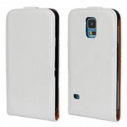 Vertikāli atvēramais futrālis - balts (Galaxy S5 / S5 Neo)