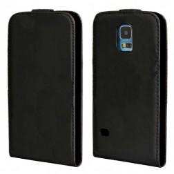 Vertikāli atvēramais futrālis - melns (Galaxy S5 / S5 Neo)