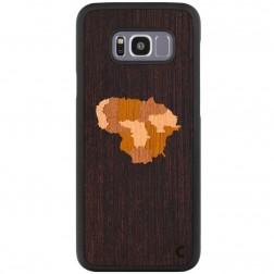 """Crafted Cover"" dabīga koka apvalks - Lietuva (Galaxy S8+)"