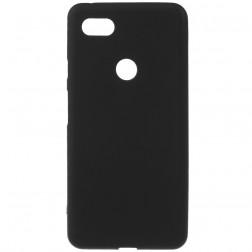 Cieta silikona (TPU) apvalks - melns (Pixel 3 XL)