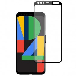"""Mocolo"" Tempered Glass ekrāna aizsargstikls 0.26 mm - melns (Pixel 4)"
