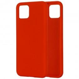 """""""Shell"""" cieta silikona (TPU) apvalks - sarkans (Pixel 4)"""