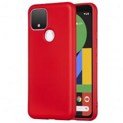 """""""Shell"""" cieta silikona (TPU) apvalks - sarkans (Pixel 4A 5G)"""