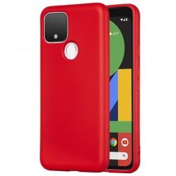 """""""Shell"""" cieta silikona (TPU) apvalks - sarkans (Pixel 5)"""
