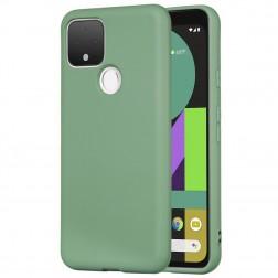 """""""Shell"""" cieta silikona (TPU) apvalks - zaļš (Pixel 5)"""
