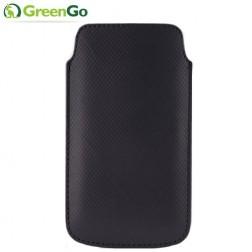 """""""GreenGo"""" Duo Card ieliktņa - melna (L+ izmērs)"""