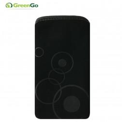 """GreenGo"" Veloer ieliktņa - melna (S izmērs)"