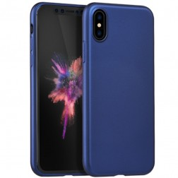 """HOCO"" Pure apvalks - zils (iPhone X / Xs)"