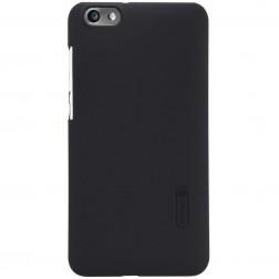 """Nillkin"" Frosted Shield apvalks - melns + ekrāna aizsargplēve (Honor 4X)"