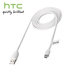 """HTC"" micro USB vads - balts (1,2 m.)"
