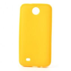 """""""Jelly Case"""" futrālis - dzeltens (Desire 300)"""