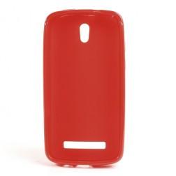 """Jelly Case"" futrālis - sarkans (Desire 500)"