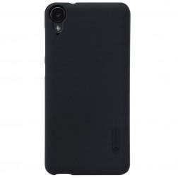 """Nillkin"" Frosted Shield apvalks - melns + ekrāna aizsargplēve (Desire 825)"