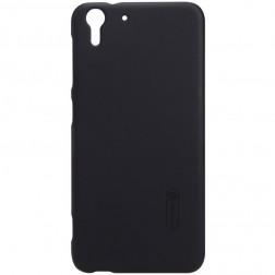 """""""Nillkin"""" Frosted Shield apvalks - melns + ekrāna aizsargplēve (Desire EYE)"""