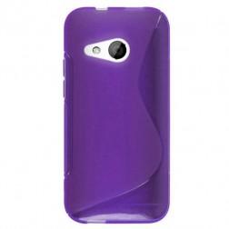"""S-Line"" cieta silikona (TPU) apvalks - violeta (One mini 2)"