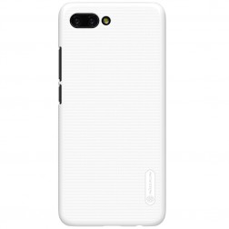 """Nillkin"" Frosted Shield apvalks - balts + ekrāna aizsargplēve (Honor 10)"