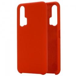 """Shell"" cieta silikona (TPU) apvalks - sarkans (Honor 20 Pro)"
