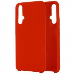 """Shell"" cieta silikona (TPU) apvalks - sarkans (Honor 20 / Nova 5T)"