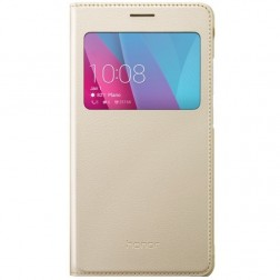 """Huawei"" Smart Cover atvērams maciņš - zelta (Honor 5X)"
