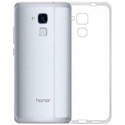 Cieta silikona (TPU) apvalks - dzidrs (Honor 5c / Honor 7 Lite)