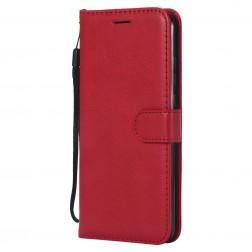 """""""Diary"""" atvēramais maciņš, grāmata - sarkans (Honor 8X)"""