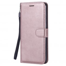 """""""Diary"""" atvēramais maciņš, grāmata - rozs (Honor 8X)"""