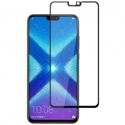 """Mocolo"" Tempered Glass ekrāna aizsargstikls 0.26 mm - melns (Honor 8X)"
