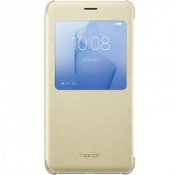 """""""Huawei"""" Smart Cover atvērams maciņš - zelta (Honor 8 / Honor 8 Premium)"""