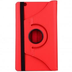 Atvēramais maciņš 360° - sarkans (MediaPad M3 8.4)