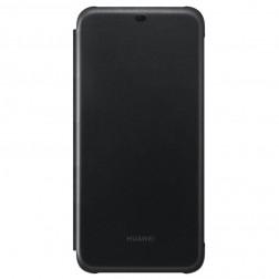 """Huawei"" Flip Cover atvērams maciņš - melns (Mate 20 Lite)"