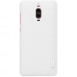 """Nillkin"" Frosted Shield apvalks - balts + ekrāna aizsargplēve (Mate 9 Pro)"