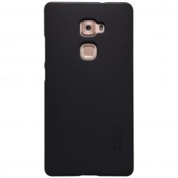 """Nillkin"" Frosted Shield apvalks - melns + ekrāna aizsargplēve (Mate S)"