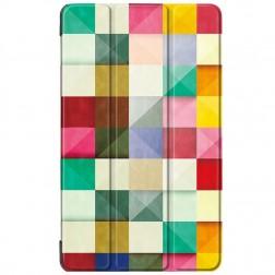 """""""Cubes"""" atvēramais maciņš (MediaPad T3 7.0 4G / 3G)"""