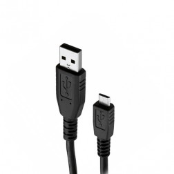 """Huawei"" micro USB vads - melns (1 m.)"